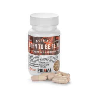 Primal Supplements Born To Be Slim (coffee & Raspberry)