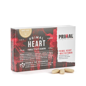 Primal Supplements Heart+ (primal Multivitamin)
