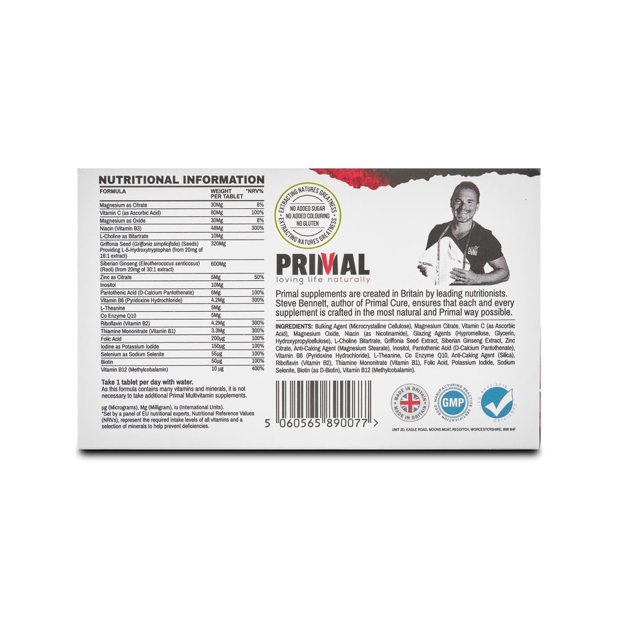 Primal Supplements Stress Relief