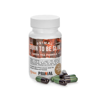 Primal Supplements Born To Be Slim (green Tea Formula)