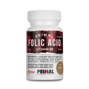Primal Supplements Folic Acid
