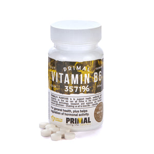 Primal Supplements Vitamin B6 (3571%)