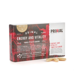 Primal Supplements Energy & Vitality