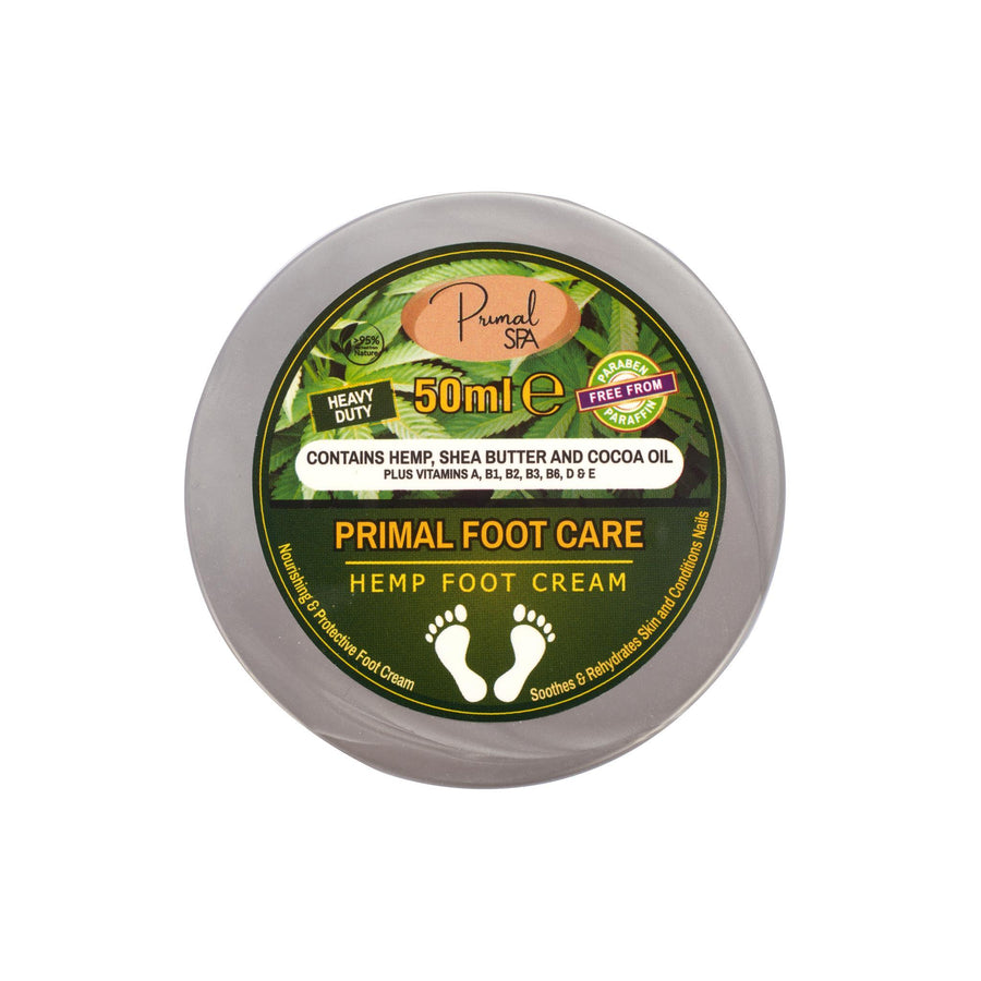 Natural Hemp Foot Cream 50g
