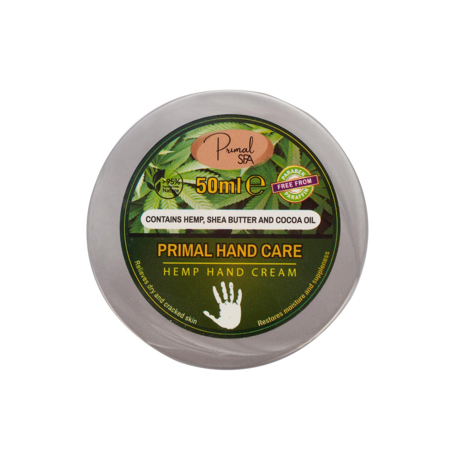 Natural Hemp Hand Cream 50g