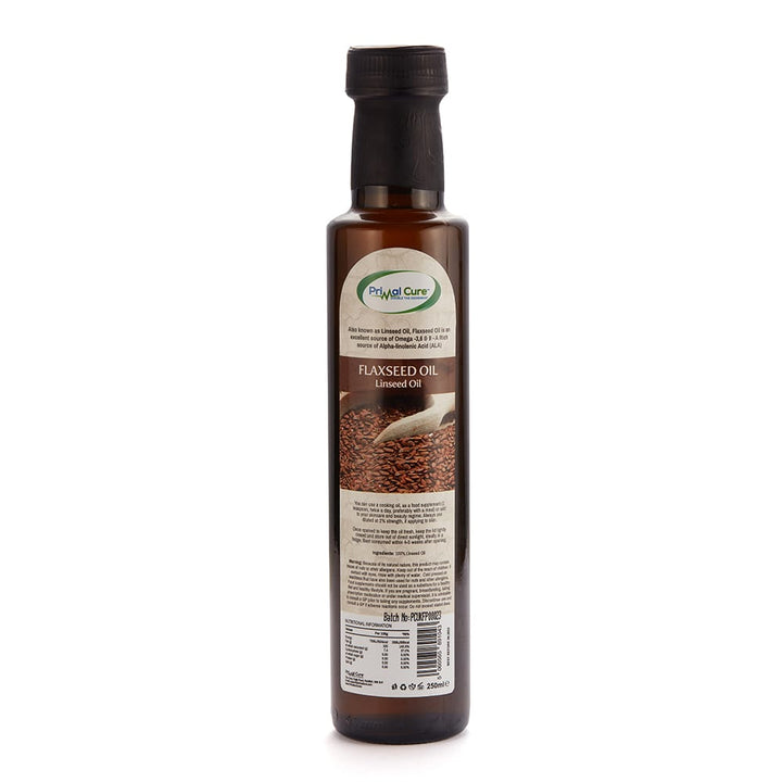 Cold-Pressed Flaxseed/Linseed Oil 250ml