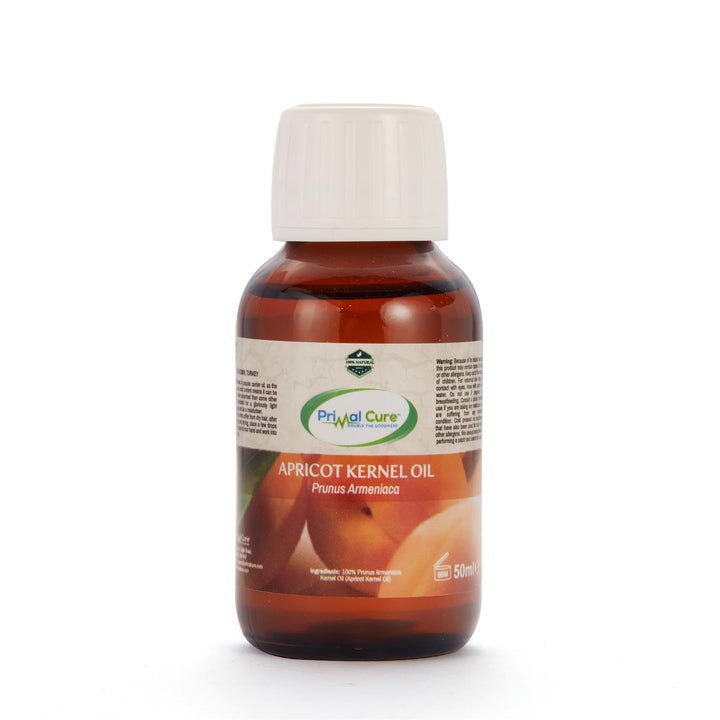 Cold-Pressed Herbal Apricot Kernel Oil 50ml