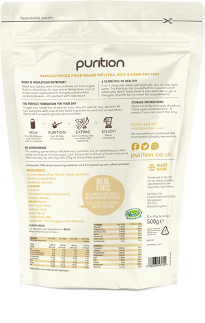 Purition Vegan 500g