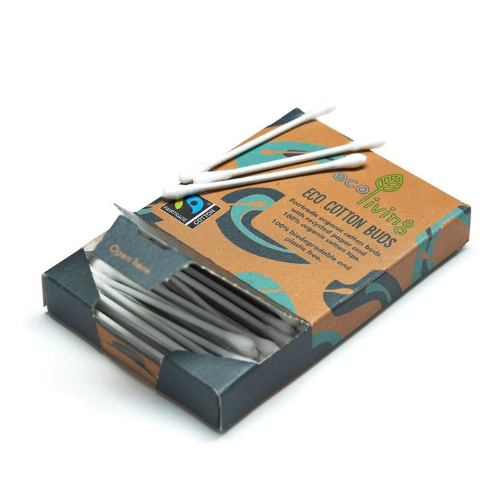 ecoLiving Fairtrade Organic Cotton Buds