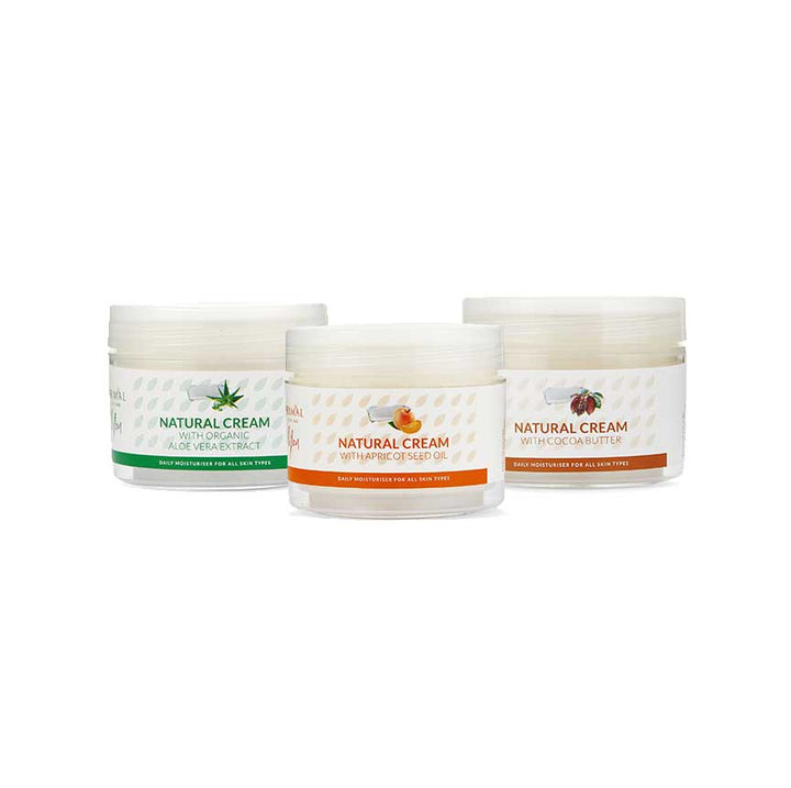 Natural Face Cream Bundle