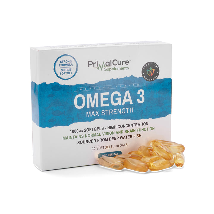 Omega 3 Max Strength Fish Oil (1000mg) Soft Gel Tablet