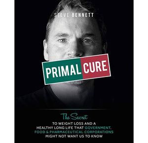 Primal Cure Hardback Book (First Edition)