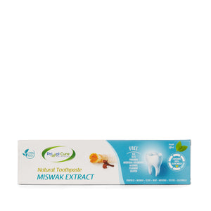 Natural Toothpaste with Miswak Extract - 75ml