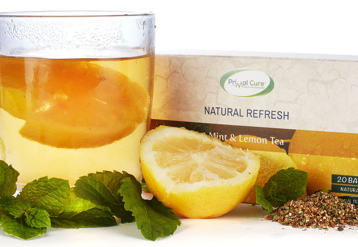 Mint & Lemon Herbal Tea - Natural (20 Bags)