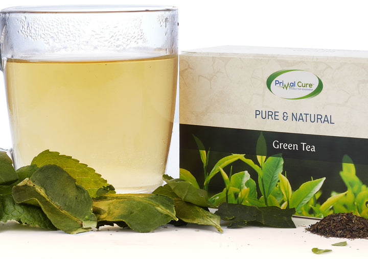 Pure & Natural Herbal Green Tea (20 Bags)