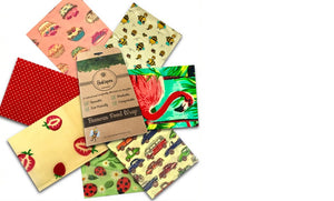 BeeKeepers Food Wraps - Set of 7 (various designs)