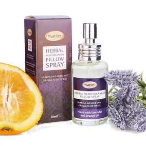Primal Sleep - Lavender and Orange Herbal Pillow Spray