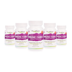 Immune Chewable Probiotic Family Bundle 150 Tablet Value Pack (5 packs Immune)
