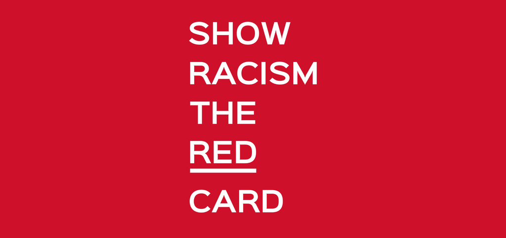 Show Racism The Red Card - Giveaway/Charity Raffle!