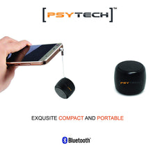 Load image into Gallery viewer, Mini Boost 2 Wireless Speakers for iPhone iPad Android Smartphone More (Black)