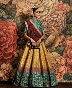 Designer Wedding Wear Exclusive Bridal Lehenga
