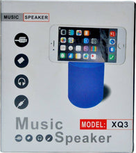 Load image into Gallery viewer, Bluetooth Speaker with Mobile Stand FM USB TF Slot for Android,Laptops & PC's (Red)