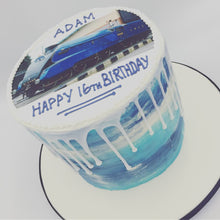 Load image into Gallery viewer, Shades Buttercream Drip Cake - Cheltenham Birthday Cakes