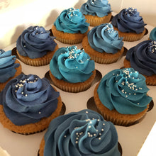 Load image into Gallery viewer, Buttercream Swirl Cupcakes - Cheltenham Birthday Cakes