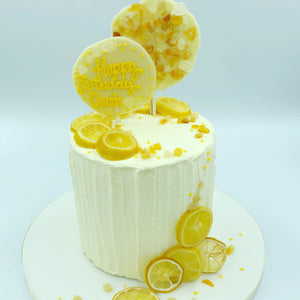 'All the Lemons' - Lemon Buttercream Cake - Cheltenham Birthday Cakes