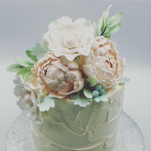 Load image into Gallery viewer, Floral Buttercream Cake - Cheltenham Birthday Cakes