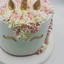 Load image into Gallery viewer, Fondant Iced Unicorn Cake - Cheltenham Birthday Cakes