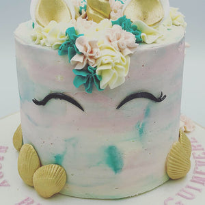 Buttercream Unicorn Cake - Cheltenham Birthday Cakes