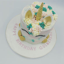 Load image into Gallery viewer, Buttercream Unicorn Cake - Cheltenham Birthday Cakes