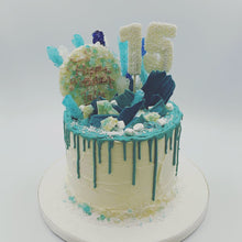 Load image into Gallery viewer, Colourful Buttercream Drip Cake - Cheltenham Birthday Cakes