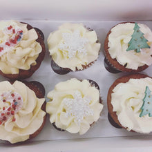 Load image into Gallery viewer, Christmas Cupcakes