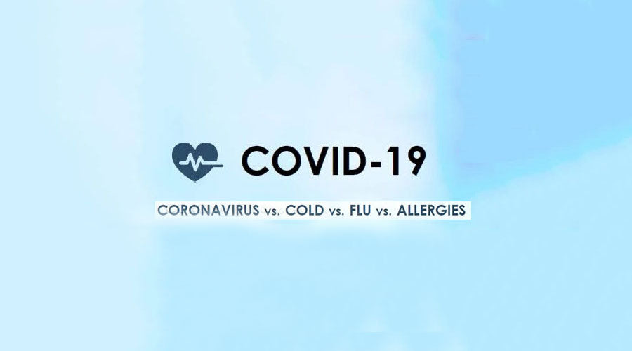 How to Tell the Difference: COVID-19, Cold, Flu, Allergies