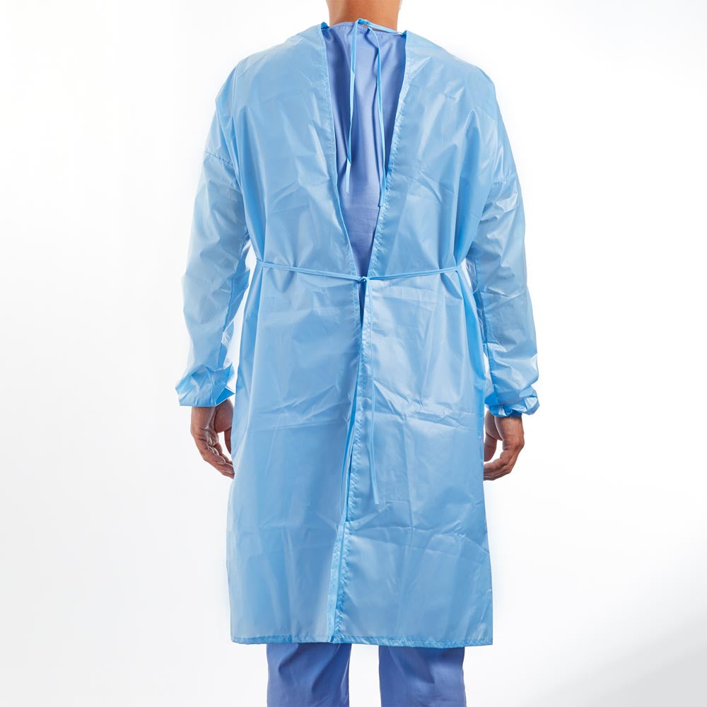 AAMI Level 2 Disposable Isolation Gown - Back