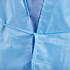 AAMI Level 2 Disposable Isolation Gown - Back Tie Detail