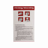 Harley NIOSH Certified N95 Respirator Face Mask Packaging - Side 1