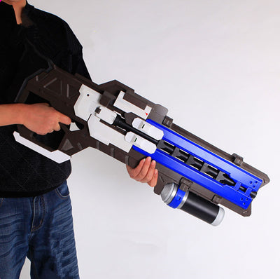 Overwatch Soldier: 76 Cosplay Heavy Pulse Rifle Gun