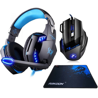 G2000 Gaming Headset & Gaming Mouse Combo
