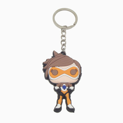 Overwatch Hero Soft Keychains
