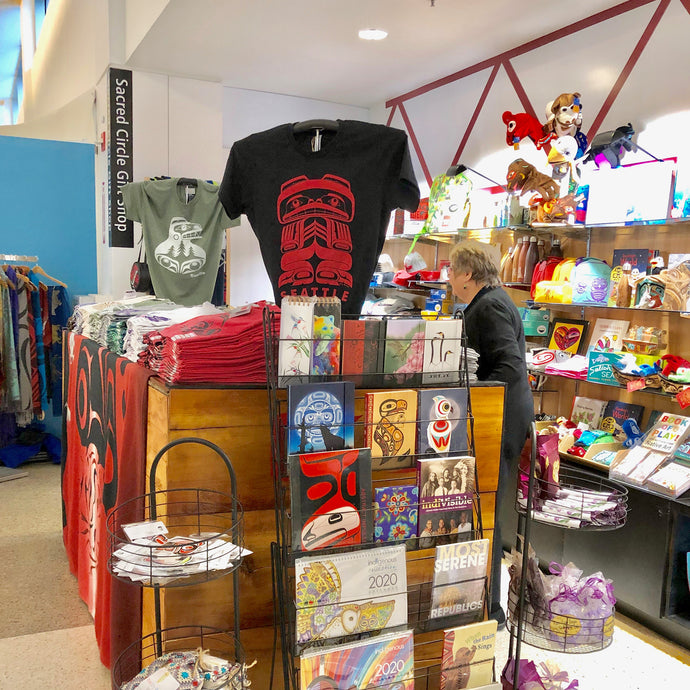 Check Out Sacred Circle Gift Shop In Seatac Airport