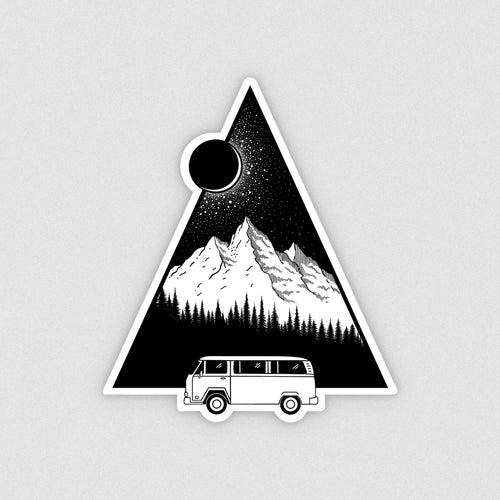 Adventure Bound Vinyl Sticker