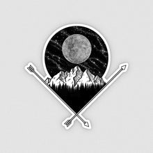 Load image into Gallery viewer, Full Moon Vinyl Sticker