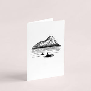 Killer Whale // Greeting Card