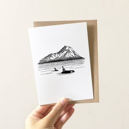 Orcas Island Greeting Card