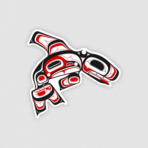 traditional tlingit killer whale design