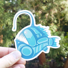 Load image into Gallery viewer, Angler Fish Vinyl Sticker