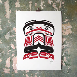 Kushtaka (Land Otter Man) Screen Print